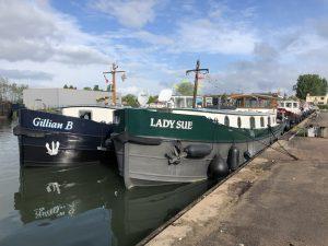 Beskoke Design Dutch Barges Gillian B Luxemotor Class Lady Sue Motor Class